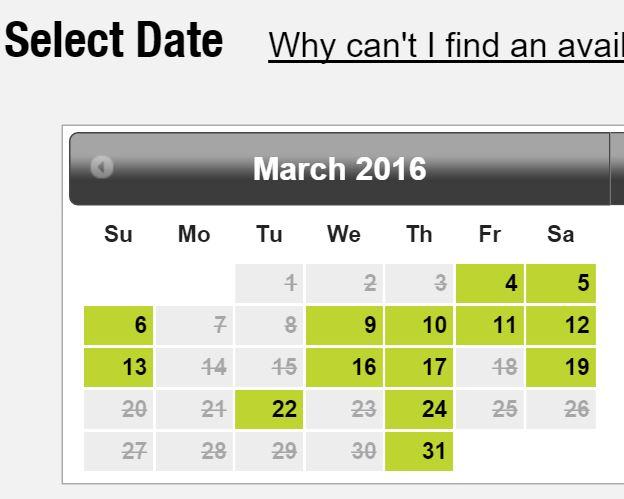 GMAT Test Date